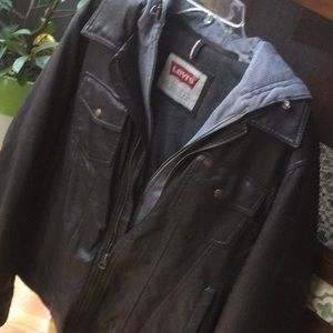 Levi's Bomber Vegan Leather Jacket